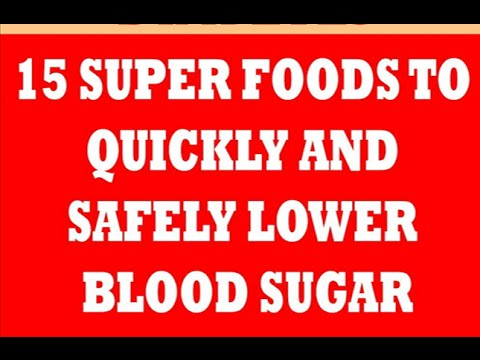What Foods Are Good To Control Blood Sugar
