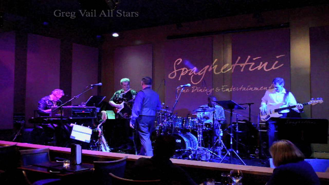Greg Vail All Stars - Steps Ahead Pools - Greg Vail Tenor