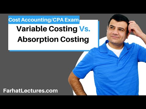 Variable costing and absorption costing ch 9 p 4