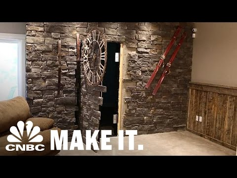 Engineer Quits His Day Job To Build 'Secret Doors' | CNBC Make It.