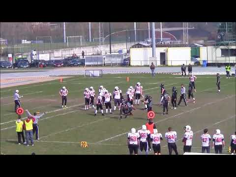 2018 BAFL D1 - WEEK 2: BRUSSELS BLACK ANGELS - CHARLEROI COAL MINERS