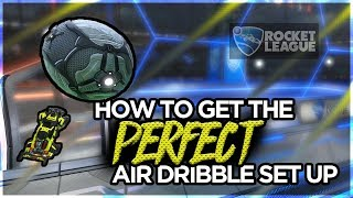 Setting up your air dribbles