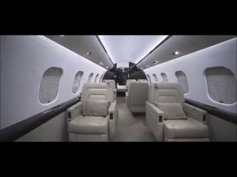 Bombardier Global Express XRS Interior Aerospace Aircraft Jet Charter Flight Service