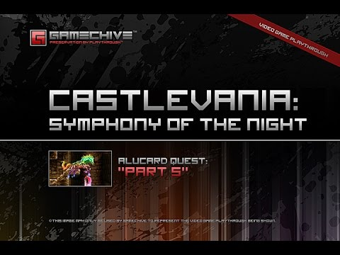 Castlevania: Symphony of the Night (PS) Gamechive (Alucard Quest, Part 5/20)