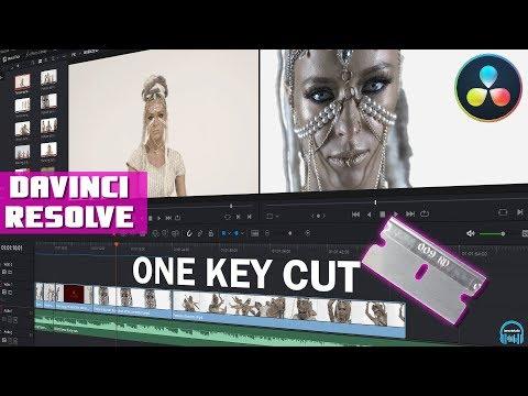DaVinci Resolve - Cut a Clip w/One Key (Edit Faster)