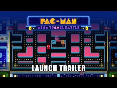 PAC-MAN MEGA TUNNEL BATTLE – Launch Trailer