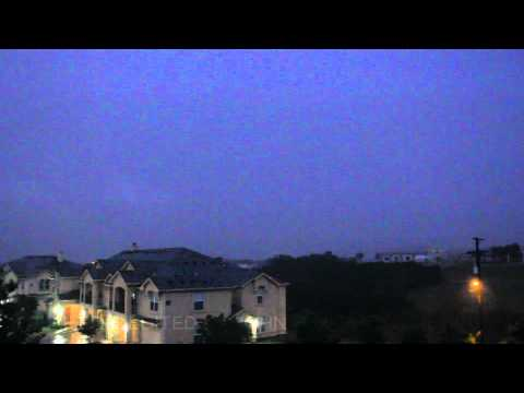 1080p HD - Thunderstorms over San Antonio - May 6, 2012 - Dntel - Fear of Corners