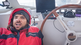 Dodging Massive Storm at Cape of Good Hope! Sailing SV Delos Ep. 105