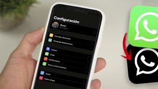 ACTIVA EL Modo OSCURO DE WhatsApp Para iPhone!