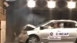 Vehicule  Crash Test 2008 Toyota Corolla Full Frontal Impact) C-NCAP-Extreme