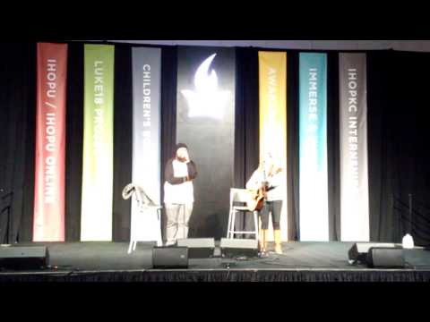 Onething 2016 Rachel and Wallace Faagutu