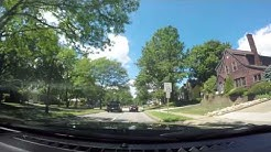 Driving down Broad Blvd in Cuyahoga Falls, Ohio (8/6/2016)