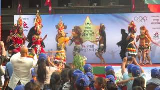 Newari traditional Mahakali Dance