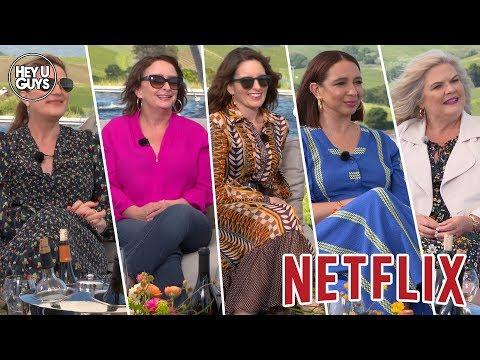 Tina Fey, Rachel Dratch & Ana Gasteyer, Maya Rudolph And Paula Pell On Netflix's Wine Country
