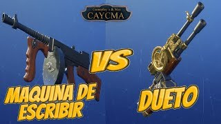 Type of Writing vs Duet ? Fortnite Save the World ? CaycMa