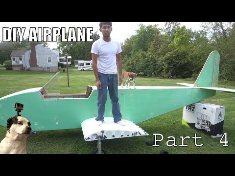 Thumbnail: DIY Electric Ultralight pt4 (fiberglassing fuselage and wing construction)