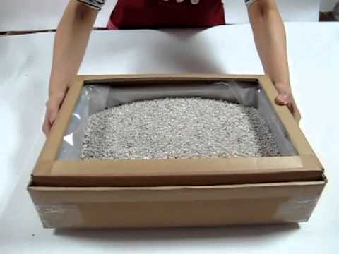 貓砂過濾袋(完整全部操作影片)  清潔貓砂就是這麼快