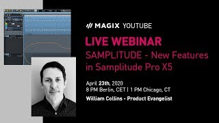 New Features in Samplitude Pro X5