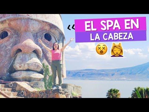 ANCIENT RUINS SPA! Hidden pools & Olmec Heads | Craftingeek Vlog
