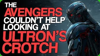 The Avengers Couldn't Help Looking At Ultron's Crotch (Male Upgrades)