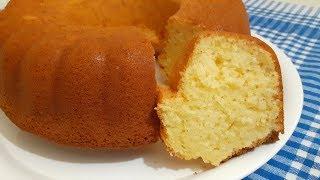 3 DAKİKADA ÇIRP Fırına AT BÖYLE YUMUŞAK BİR KEK YOK Kabardıkça Kabaran Limonlu kek nasıl yapılır