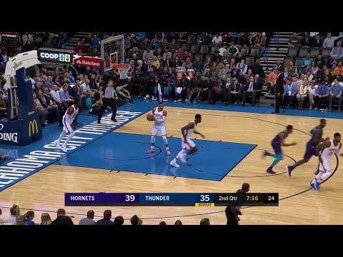 2nd Quarter, One Box Video: Oklahoma City Thunder vs. Charlotte Hornets