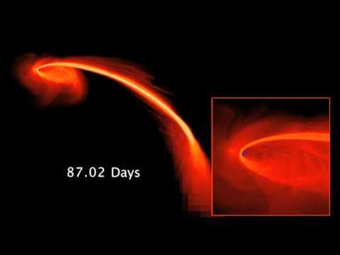 Cận cảnh hố đen nuốt chửng một ngôi sao đi lạc-Yume TTNV
