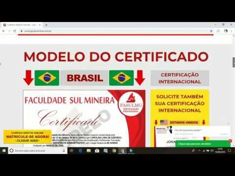 Cursos Online Gratuitos Com Certificado Gratis Faculdade Sul Mineira