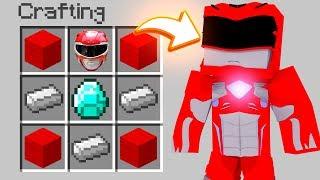 How To SUMMON THE POWER RANGERS in Minecraft (Minecraft Secrets)