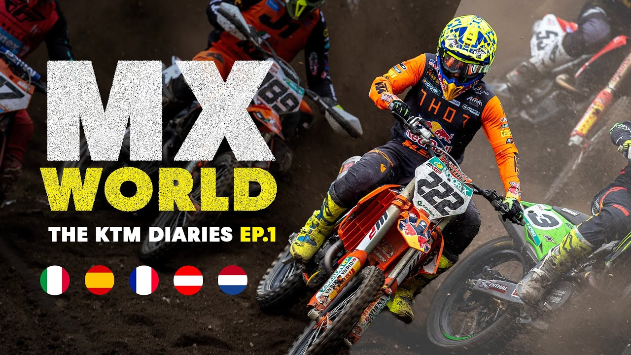 MX World | The KTM Diaries Ep 1