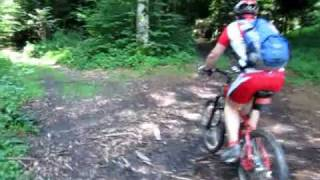 Schiffenensee Mountainbike Tour.wmv