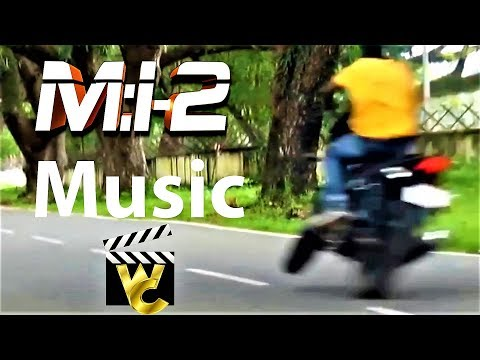 Mission Impossible music on accident very funny Bike accident on road