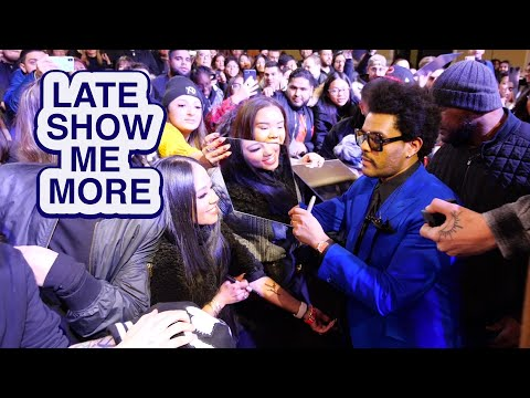 LATE SHOW ME MORE: It's Not Cold In Here!
