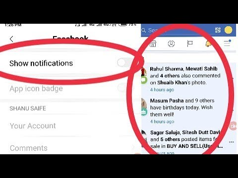 Facebook Notification Settings || Facebook Notification Problem || Don't Allow || Hide Notification