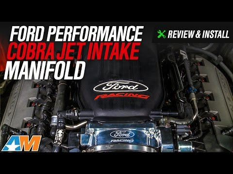 2011-2014 Mustang 5.0L Ford Performance Cobra Jet Intake Manifold Review & Install