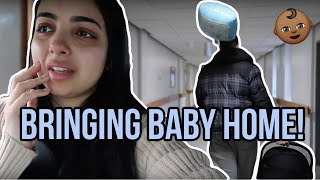 BRINGING BABY HOME! | VERY EMOTIONAL FIRST TIME PARENTS
