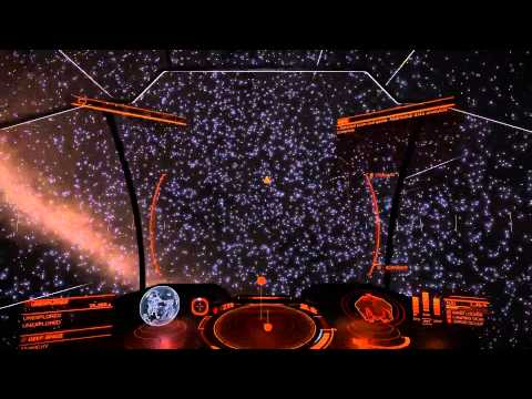 Elite Dangerous - Deep space exploration #3 - To the center
