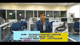 Rushikesh Chavhan's Live Review of DTPP program...
