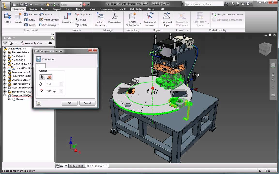 autodesk inventor 2010 design and manufacturing documentation youtube rh youtube com Inventor 2011 Rendering Inventor 2010