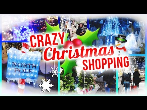 CRAZY CHRISTMAS SHOPPING | 24 DAYS OF CHRISTMAS | DAY 4