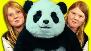Kids React to Panda Cheese Commercial