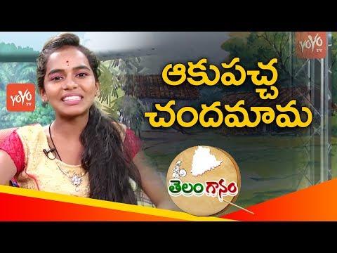 Akupacha Chandamama Song By Telangana Folk Singer Bhavana | Latest Telangana Folk Songs | YOYO TV