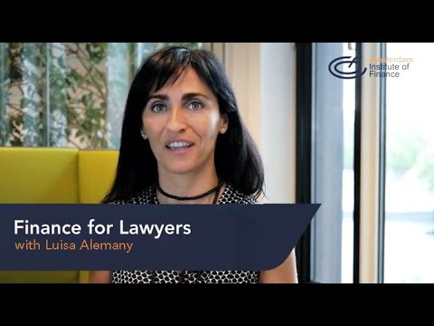 Finance for Lawyers program | Amsterdam Institute of Finance