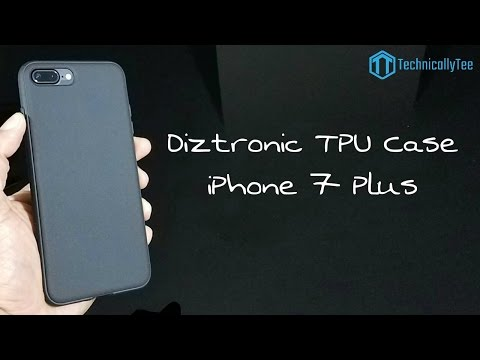 save off 4a2d0 289a9 iPhone 7 Plus Diztronic TPU Case Review! - YouTube
