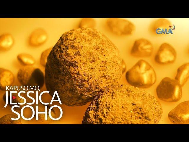 Kapuso Mo, Jessica Soho: Gintong bato, matatagpuan umano sa isang sapa sa Samar?!