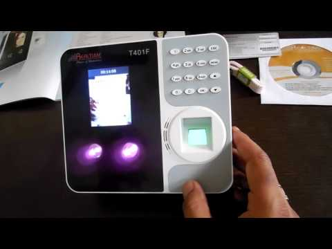 T401F Face Fingerprint Card Password based Multi Biometric Attendance System