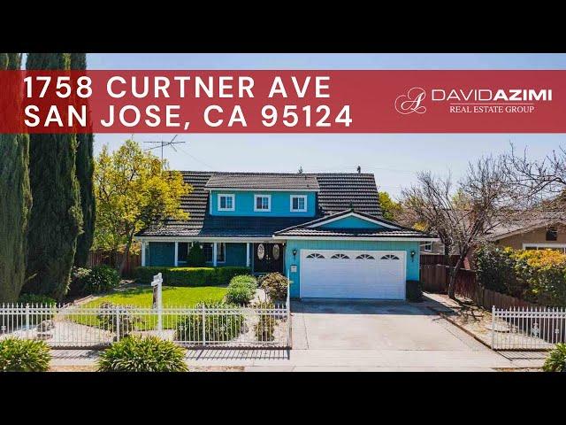 For Sale! 1758 Curtner Ave San Jose, CA 95124 | David Azimi