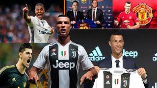 MERCADO DE FICHAJES 2019 CONFIRMADOS y rumores! Presentación Ronaldo con Juventus, Mbappe y más!