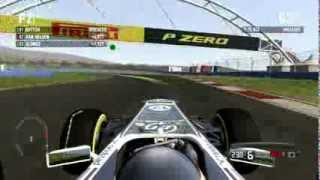 F1 2011 Gameplay Ita PC Gara#4 Gran Premio Turchia Istanbul -Fino all