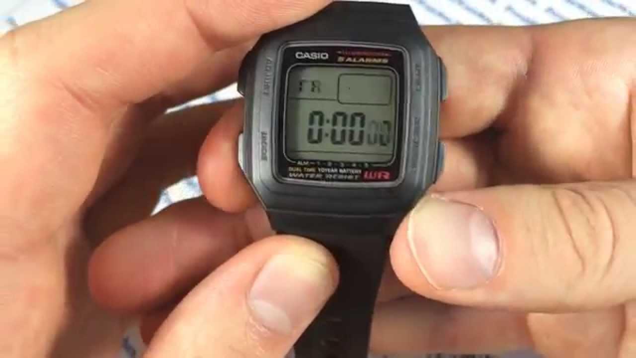 Мужские часы Casio F-201W-1A Женские часы Michael Kors MK2443